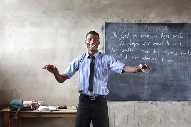 Challenging Heights School, Ghana.Challenging Heights School, Ghana.