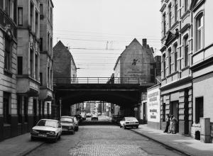 Thomas Struth, Gereonswall, Cologne, 1982