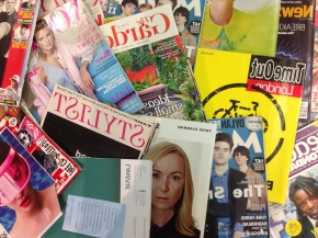 Visual research for student magazines