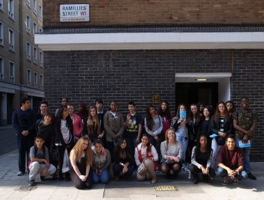 Y10 Photography GCSE group photo